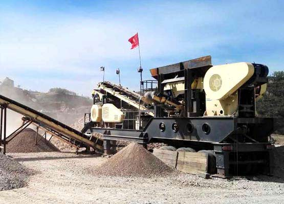 Rubber Tyred Mobile Crusher