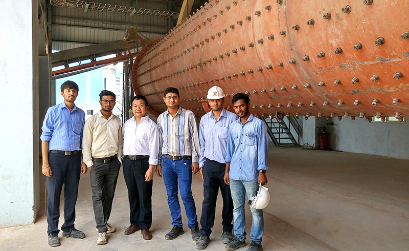 Engineers conduct field visits to provide users with professional project design