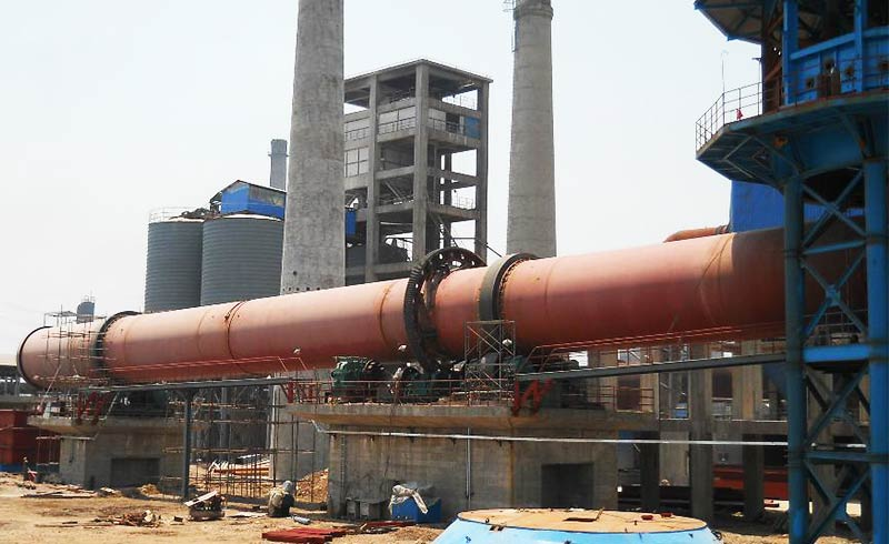 sand dryer production site