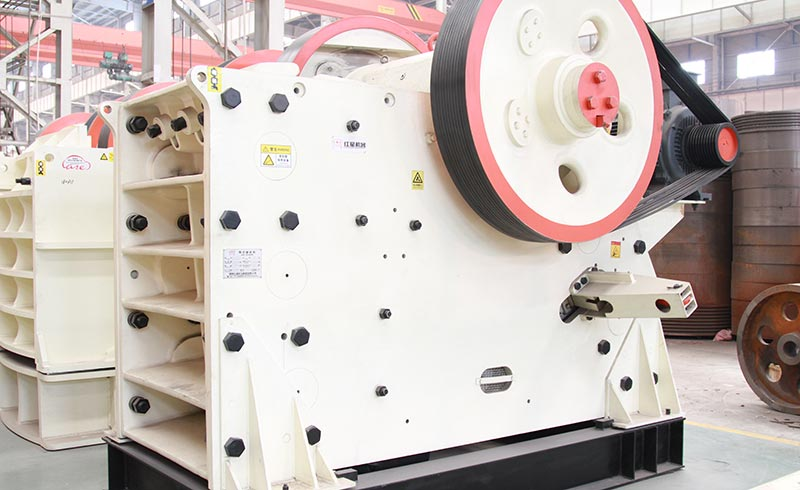 CJ series of euro jaw crusher production site