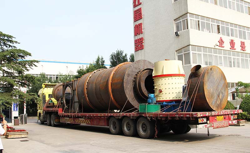 combination crusher delivery