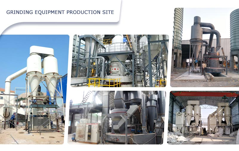 grinding equipment production site