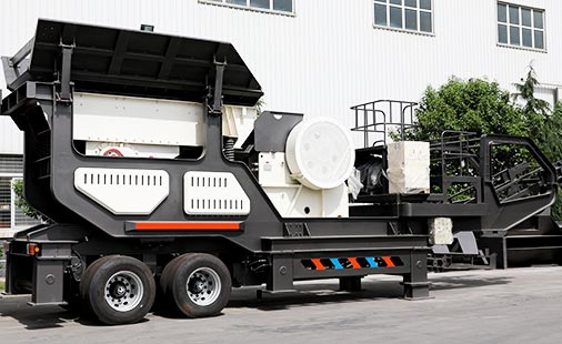 Wheeled Mobile Crusher