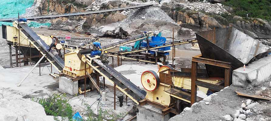 Stone Crushing Plant in South Africa
