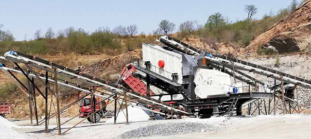 Mobile Crushing Plant In France