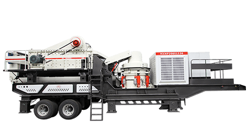 Wheeled Mobile Cone Crusher Station