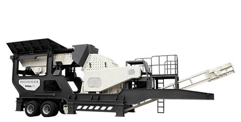 Wheeled Mobile Impact Crusher Station